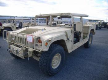 1995 Am General mdl W / E M1025A2 4 X 4 1 Tonne ARMT CAR, Dienstprogramm LKW. S / n 168974. Reg # NG