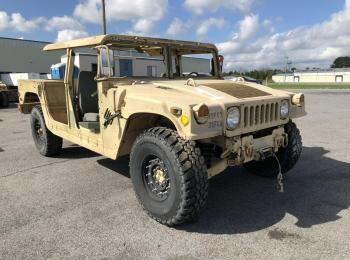 1995 Am General mdl W / E M1025A2 4 X 4 1 Tonne ARMT CAR, Dienstprogramm LKW. S / n 168845. Reg # NG