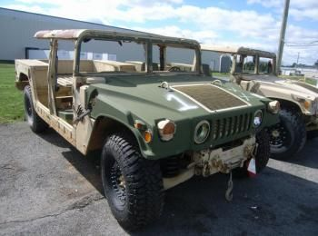 1995 Am General mdl W / E M1025A2 4 X 4 1 Tonne ARMT CAR, Dienstprogramm LKW. S / n 168497. Reg # NG