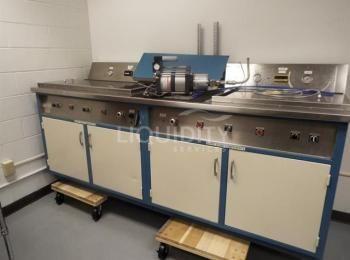 2012 Maximator L400-2VE Unterwasserleck- und Stoßstativ. S / N: 14068499. Unterwasserleckkammer für