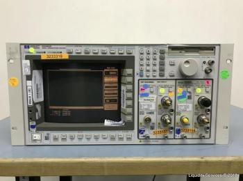 Hewlett Packard 83480A Digital Communications Analyzer Ser. US37351003 Mit: Agilent 83485A Optical M