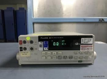 Fluke 45 Dual Display Multimeter Ser. Nr. 7201012 (Asset ID: A04229), - - Die Abholung der im Verkau
