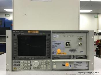 Hewlett Packard 70951B Optischer Spektrumanalysator Ser. 3644A00771 mit Hewlett Packard 70004A Farbs