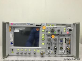 Agilent 86100A Oszilloskop mit breiter Bandbreite (Opt 001) Ser. US41069755 Mit: Agilent 86105A Opti