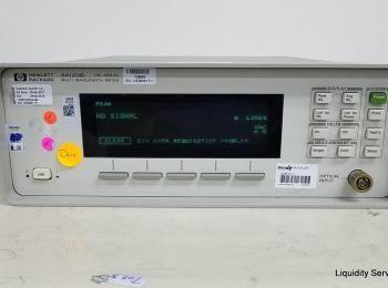 Hewlett Packard 86120B Multi-Wellenlängenmessgerät Ser. US38461711 (Anlagen-ID: A04149), - - Sammlun