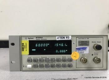 Hewlett Packard 8156A Optischer Abschwächer Ser. 3328G06078 (Anlagen-ID: A04602), - - Sammlung für W