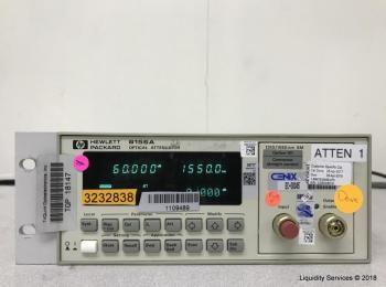 Hewlett Packard HP 8156A Optischer Abschwächer Ser. 3328G08519 (Anlagen-ID: A04176), - - Sammlung fü