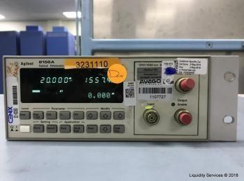 Agilent 8156A Optischer Abschwächer Ser. Nr. 3328G09681 (Anlagen-ID: A07161), - - Die Sammlung von W