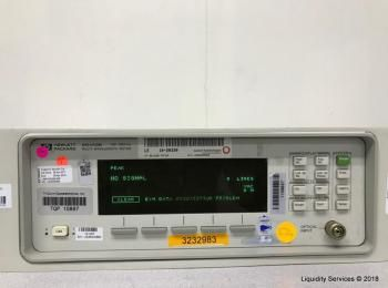 Hewlett Packard 86120B Multi-Wellenlängenmessgerät Ser. Nr. US36400984 (Anlagen-ID: A01671), - - Sam