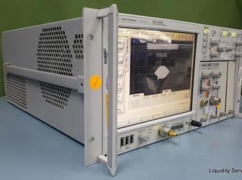Agilent 86100D Osilloskop mit breiter Bandbreite, Ser. MY50361268 Opt. 092 GPI STR Mit: Agilent 8610