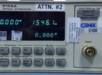 Hewlett Packard 8156A Optischer Abschwächer Ser. Nr. 3328G08540 (Asset ID:), - - Die Abholung der in
