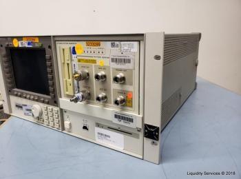 Hewlett Packard 70004A Farbsystem Display Ser. 3746A07397 Mit: Hewlett Packard 70841B Pattern Genera