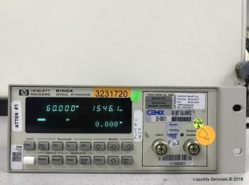 Hewlett Packard HP 8156A Optischer Abschwächer Ser. 3328G08512 (Anlagen-ID: A04317), - - Sammlung fü