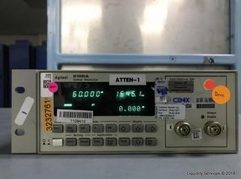 Agilent 8156A Optischer Abschwächer Ser. 3328G11164 (Asset ID: A04215), - - Die Sammlung von Waren i