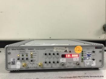 Agilent Technologies N4962A Serial Bert 12.5Gb / s Ser. MY53236580 (Anlagen-ID: A01663), - - Sammlun