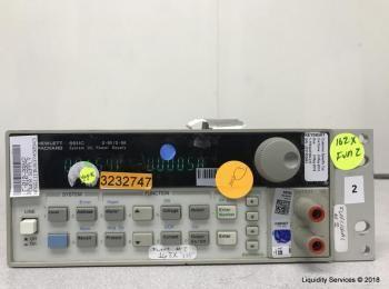 Hewlett Packard 6611C System Gleichstromversorgung Ser. US37450943 (Anlagen-ID: A04875), - - Sammlun
