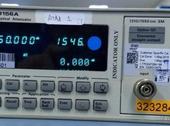 Agilent 8156A Optischer Abschwächer Ser. 3328G10675 (Asset ID: A01845), - - Die Sammlung von Waren i