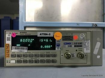 Agilent 8156A Optischer Abschwächer Ser. 3328G11125 (Asset ID: A04219), - - Die Sammlung von Waren i