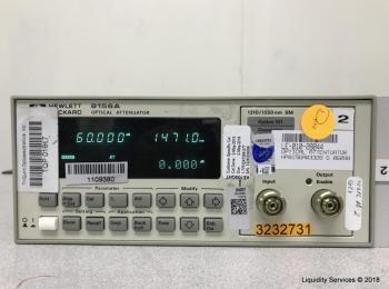 Hewlett Packard 8156A Optischer Abschwächer Ser. Nr. 3328G06098 (Anlagen-ID: A04949), - - Sammlung f