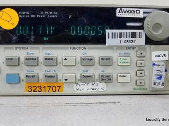 Hewlett Packard 6611C Netzteil Ser. Nr. US37450944 (Anlagen-ID: A01694), - - Die Sammlung von Waren