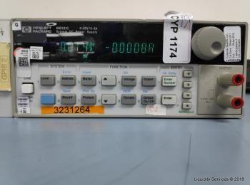 Hewlett Packard 6611C System Gleichstromversorgung Ser. Nr. US37450670 (Anlagen-ID: A01672), - - Sam