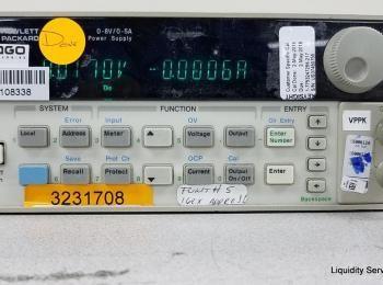 Hewlett Packard 6611C Netzteil Ser. Nr. US37450755 (Asset ID: A01695), - - Die Sammlung von Waren in