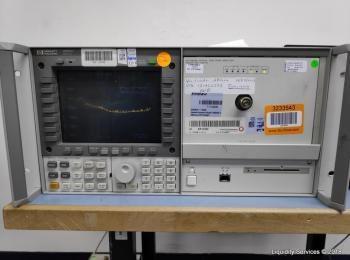 Hewlett Packard 70950B Optischer Spektrumanalysator Ser. 3727A00971 mit Hewlett Packard 70004A Displ