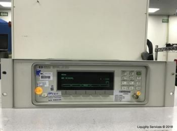 Hewlett Packard 86120C Multi-Wellenlängenmessgerät Ser. US38401159 (Anlagen-ID: A01664), - - Sammlun