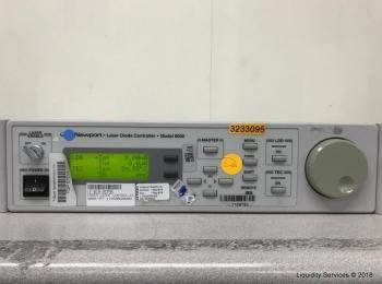 Newport 6000 Laserdiodensteuerung Ser. 50060002 mit 6505 Treibermodul (Asset-ID: A09017, A11203), -