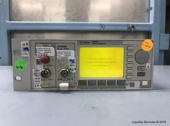 Agilent 8163A Lichtwellenmultimeter Ser. DE41109456 Mit: Hewlett Packard 81536A Power Sensor Module