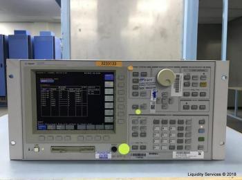 Agilent 4156B Halbleiterparameter-Analysator Ser. JP10E00890 (Anlagen-ID: A01683), - - Sammlung für