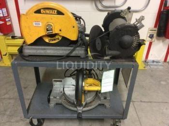 3 Ea. Ausrüstung für das Geschäft: (1) Dewalt-Modell D28715 Typ-1 14
