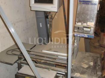 2 Ea., Mettler Toledo MT 662 Step Saver Scale Wrapper, Seriennummer: 46532714MH (2010 Jahr) und S /