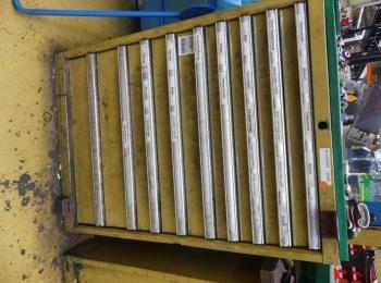 Schubladenschrank ohne Inhalt; 72 x 72 x 100 cm, 200