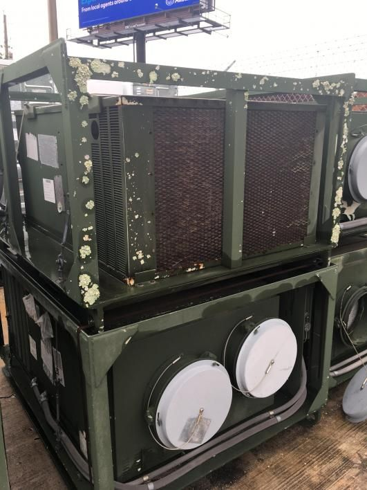 2 Stück HD-1099TSQ Klimaanlage 208/230 VAC, 30, 60 Hz. Verstümmelung nicht erforderlich. Der GL über
