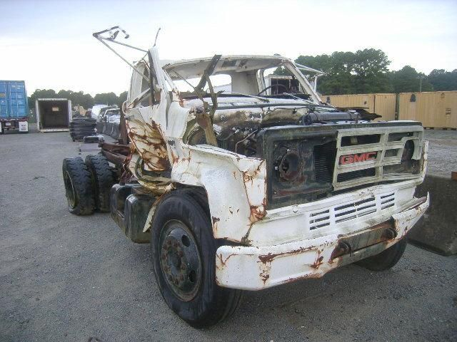 1988, General Motors Corp, C6D042, LKW, ca. 15.000 lbs., 8.2L V8-Dieselmotor, ruiniert, schwerer Sch