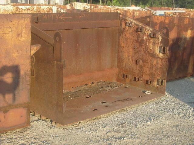 15 Stück Unbekannt, Zylinderbehälter, leer, Stahlmaterial, chapeau Rost von außen, Maße: 83,5 Zoll lang