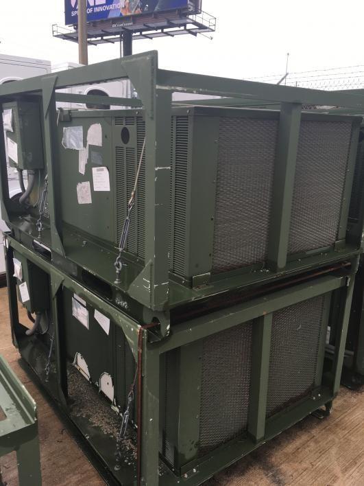 2 Stück HD-1099TSQ Klimaanlage 208 / 230 VAC, 30, 60 Hz. Verstümmelung nicht erforderlich. Der GL über