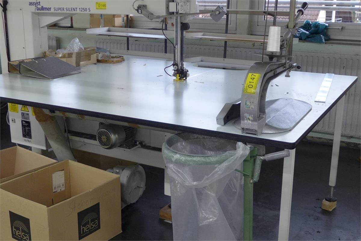 Bandschneidemaschine assyst Bullmer Super Silent 1250S