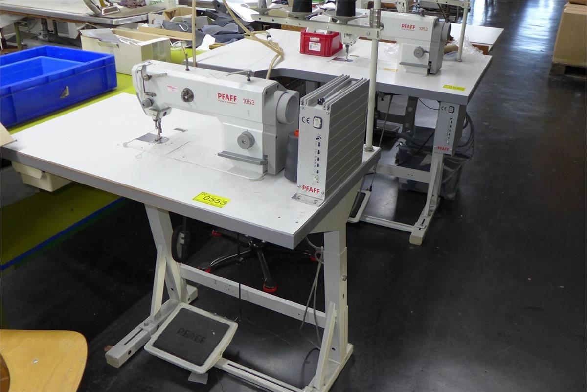 Industrienähmaschine Schnellnäher Pfaff 1053