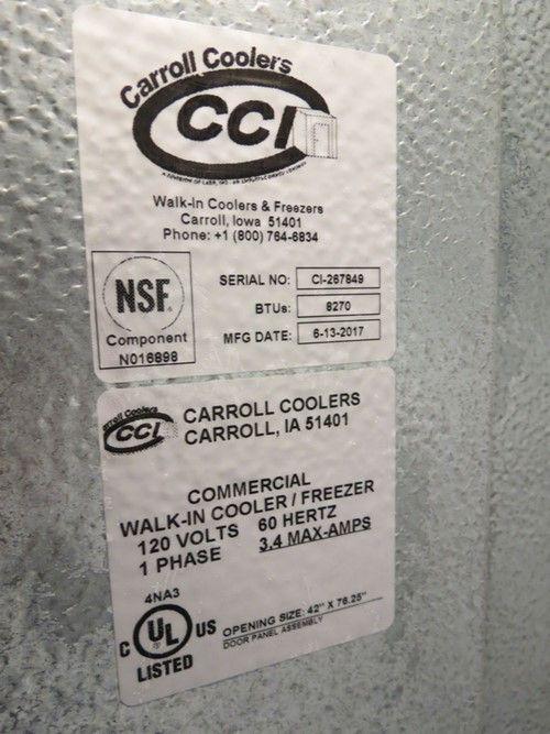 1 - Carrol Coolers Kühl- / Gefrierschrank begehbar