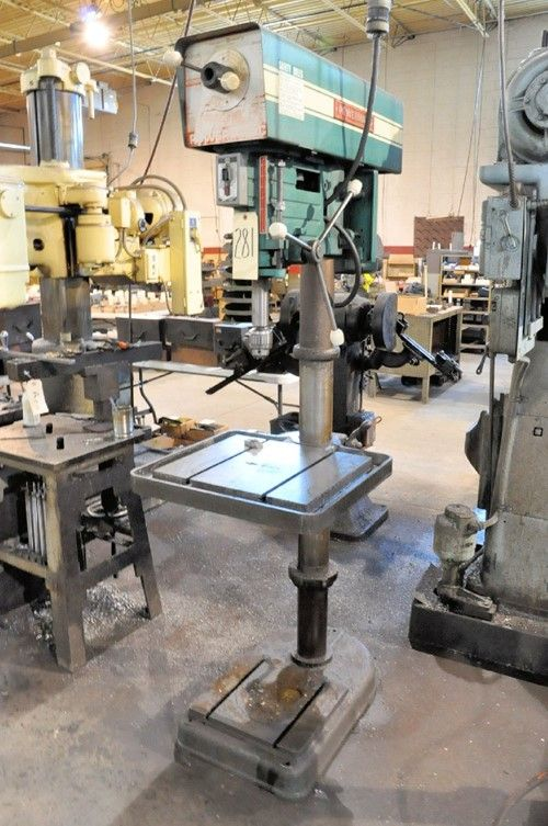 1 - Standbohrmaschine Powermatic 1200 20