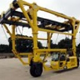 1 - Combilift 100,000-Lb Capacity Straddle Carrier Lift