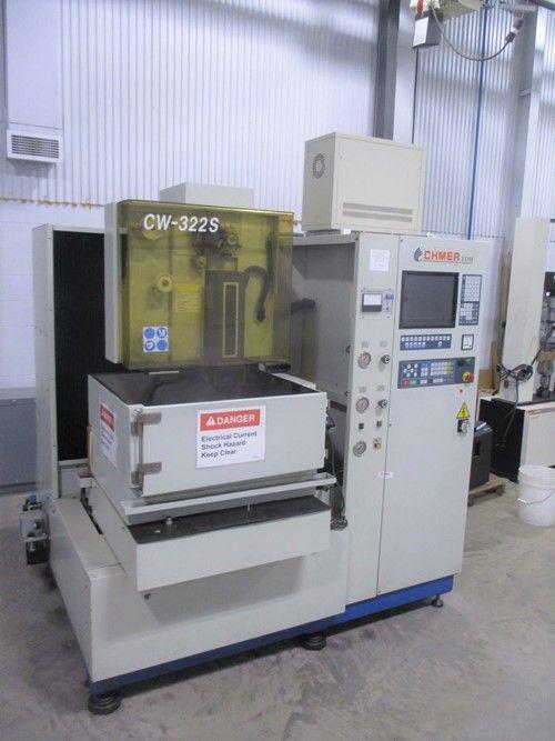 1 - Chmer CW-322S CNC-Funkenerosionsmaschine