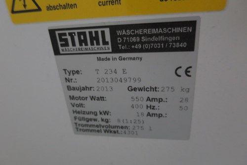 1 - Stahl T 234 E Wasch- und Trockenmaschine