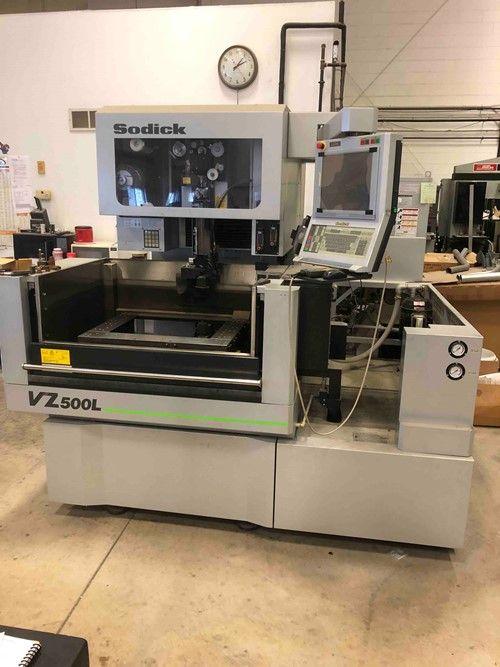 1 - Sodick VZ500L CNC-Funkenerosionsmaschine