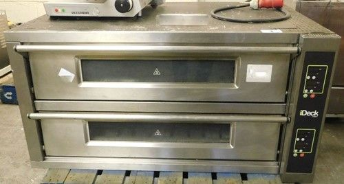 1 - Moretti Forni Double Deck - Elektrischer Pizzaofen mit 3 Phasen