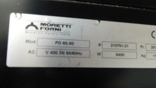 1 - Moretti Forni PD60.60 Doppelter Pizzaofen