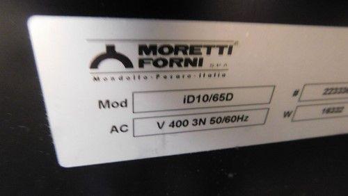 1 - Moretti Forni id10 / 65D Doppelter Pizzaofen