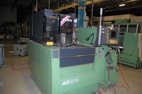 1 - Sodick AQ550L Draht-CNC-Funkenerosionsmaschine